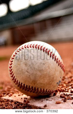 Close-up Baseball