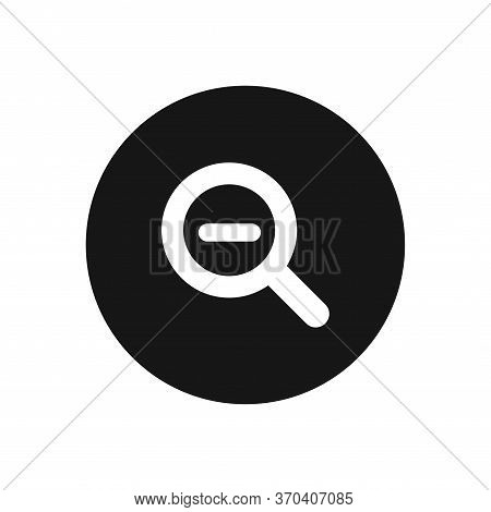 Zoom Out Icon Isolated On White Background. Zoom Out Icon In Trendy Design Style For Web Site And Mo