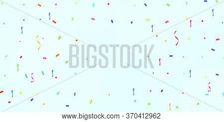 Colorful Celebration Background With Confetti. Celebration Background