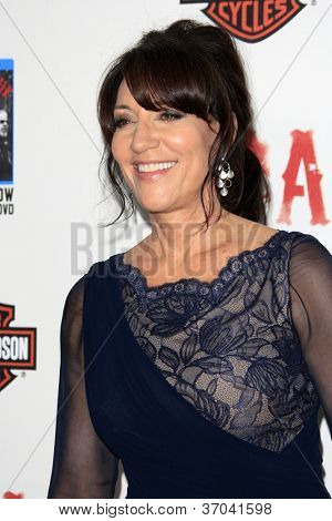 "LOS ANGELES - SEP 8:  Katey Sagal arrives at the ""Sons of Anarchy"" Season 5 Premiere Screening at Village Theater on September 8, 2012 in Westwood, CA"