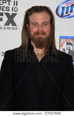 LOS ANGELES - SEP 8:  Ryan Hurst arrives at the