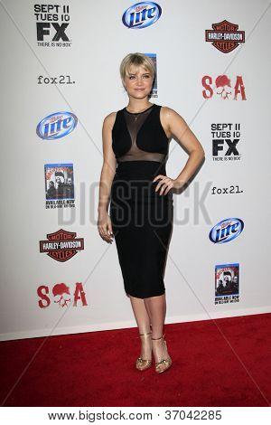 LOS ANGELES - SEP 8:  Sarah Jones arrives at the