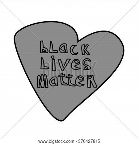 Black Lives Matter Text Vintage. Stop Racism. Don't Shoot. Black Lives Matter. Lives Matter. I Can't
