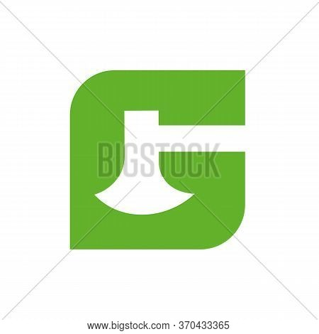 G Initial Letter With Axe Logo Icon Design, Ax And Alphabet G Symbol - Vector