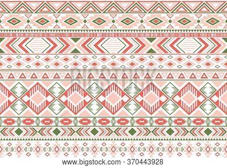 Gypsy Pattern Tribal Ethnic Motifs Geometric Vector Background. Eclectic Gypsy Tribal Motifs Clothin