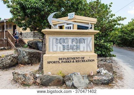 Coki Point, St. Thomas, U.s. V. Islands (usvi) - April 30, 2019: Stella At The Entrance To The Coki