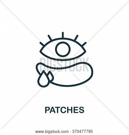 Patches Icon. Simple Element From Cosmetology Collection. Creative Patches Icon For Web Design, Temp