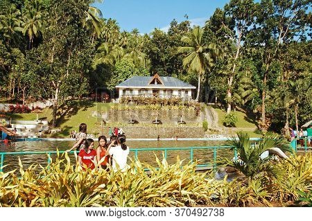 Camiguin, Ph - Santo Nino Cold Spring Resort Cottage Facade On February 3, 2013 In Camiguin, Philipp