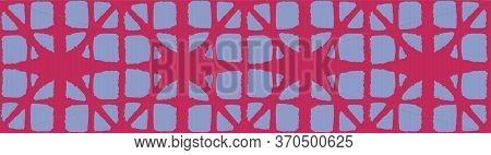 Japanese Tie Dye Seamless Pattern. Vintage Shibori Seamless Pattern. Geometric Bohemian Asian Tie Dy