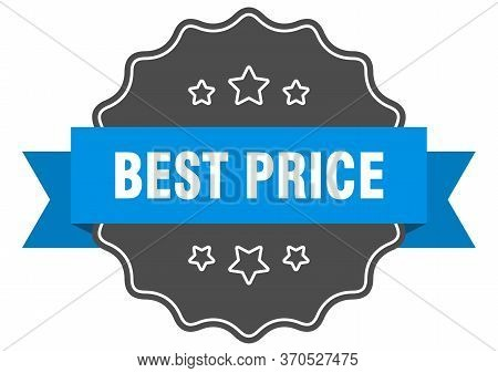 Best Price Blue Label. Best Price Isolated Seal. Best Price