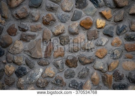 Background Image Of Masonry Texture. Texture For Interior And Exterior. Text Space. Wallpaper. Detai