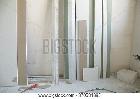 Construction Materials Residues In A New Apartment