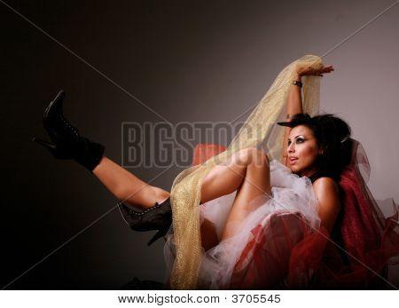 Sexy Hispanic Woman