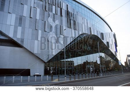 London, England - April 13, 2019: Outside View Of The Venue Seen Prior To The 2018/19 Premier League