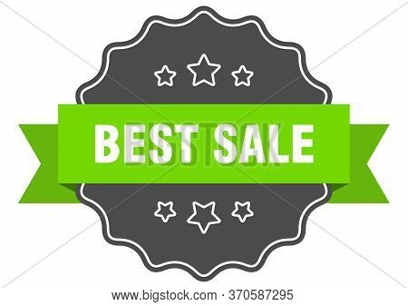 Best Sale Isolated Seal. Best Sale Green Label. Best Sale