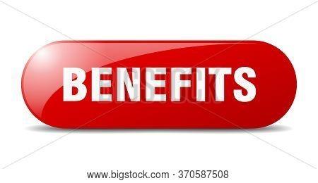 Benefits Button. Benefits Sign. Key. Push Button.