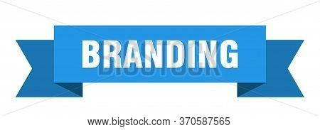 Branding Ribbon. Branding Isolated Sign. Branding Banner