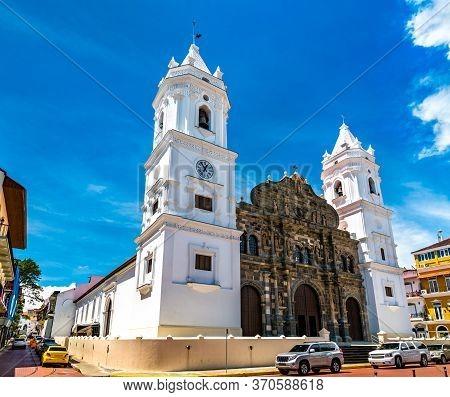 The Cathedral Basilica Of Santa Maria La Antigua In Casco Viejo, Panama