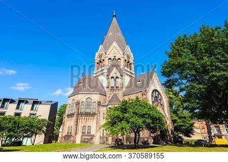Church Of St. John Of Kronstadt Is A Church Of Berlin And German Diocese Of Russian Orthodox Church
