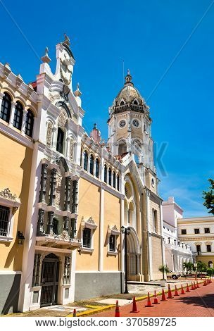 San Francisco De Asis Church In Casco Viejo, Panama City