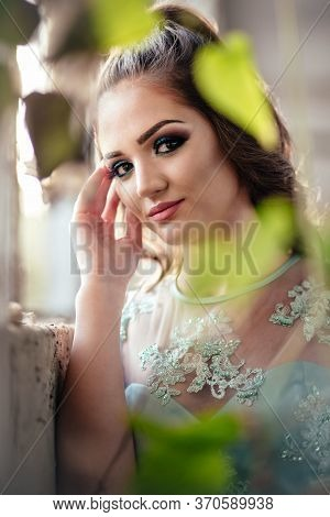 Portrait Of Young, Teen Girl Ready For Her Prom