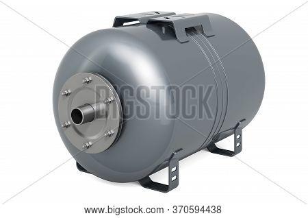 Pressure Tank Vessel Expansion For Domestic Waterworks Pump,  Membrane Drinking Water, 3d Rendering