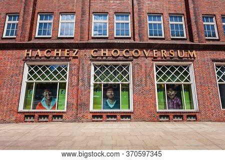 Hamburg, Germany - July 07, 2018: Hachez Chocoversum Is A Chocolate Museum In Hamburg City, Germany