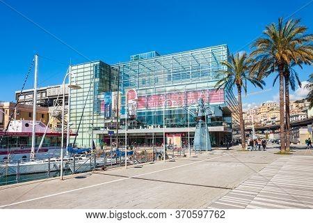 Genoa, Italy - April 08, 2019: Galata Museo Del Mare Di Genova Is The Largest Maritime Museum Locate