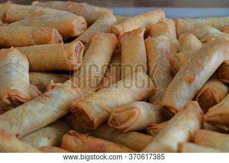 Deep Fried Crispy Cheese Rolls, Arabic Style