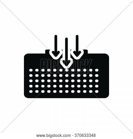 Black Solid Icon For House Home Premises Dwelling Vicarage  Residence Habitation