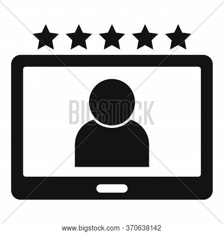 Engaging Content Icon. Simple Illustration Of Engaging Content Vector Icon For Web Design Isolated O