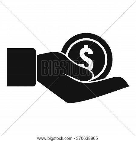 Finance Advisor Icon. Simple Illustration Of Finance Advisor Vector Icon For Web Design Isolated On
