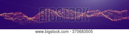 Technology Background Abstract Digital Futuristic Wallpaper. Light And Creative Business Concept For