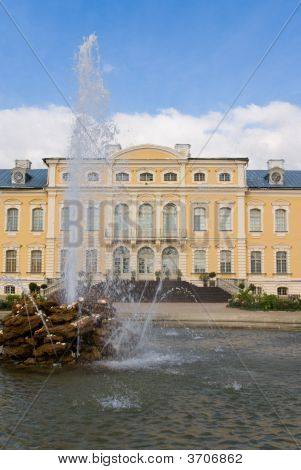 Palace With Fountain