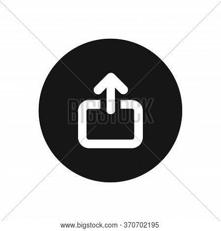 Upload Icon Isolated On White Background. Upload Icon In Trendy Design Style For Web Site And Mobile