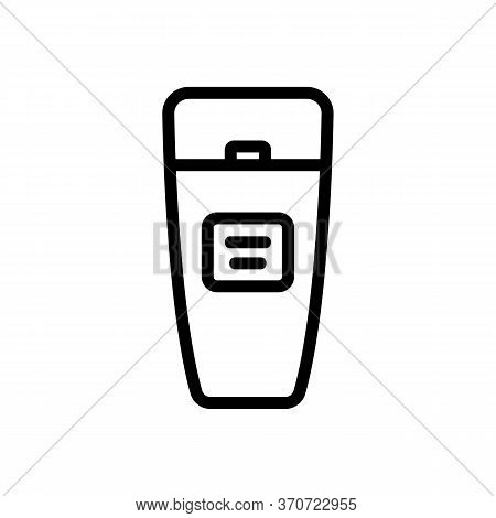 Makeup Remover Cream Icon Vector. Makeup Remover Cream Sign. Isolated Contour Symbol Illustration