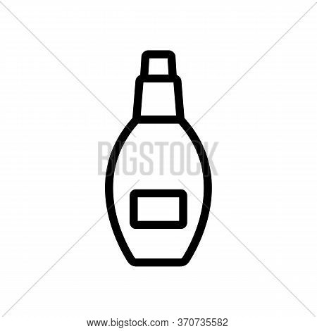 Aromatic Serum Spray Icon Vector. Aromatic Serum Spray Sign. Isolated Contour Symbol Illustration