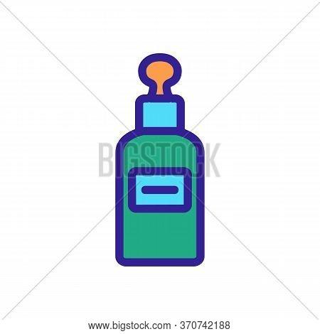 Skincare Serum Icon Vector. Skincare Serum Sign. Isolated Color Symbol Illustration