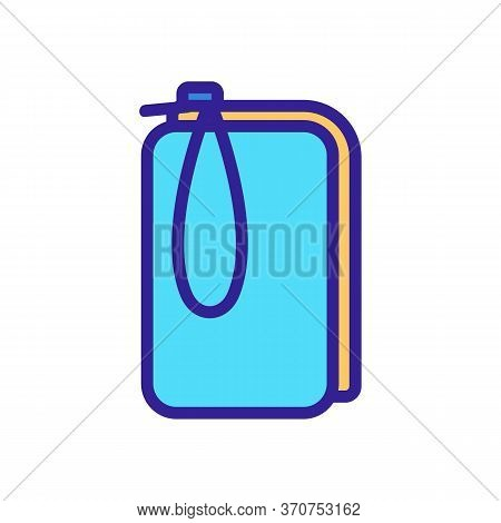 Phone Case Pouch Icon Vector. Phone Case Pouch Sign. Isolated Color Symbol Illustration