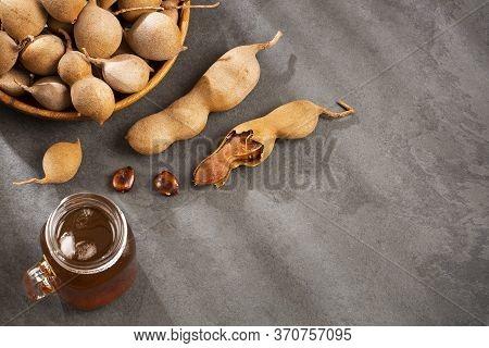 Tropical Fruit Of Tamarind - Tamarindus Indica