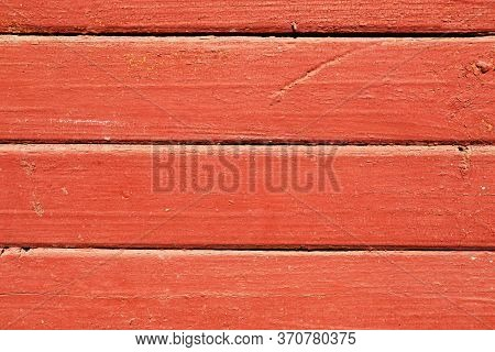 Light Brown Wooden Lacquered Planks Horizontal Background. Wooden Oak Planks For Parquet Walls Or Fl