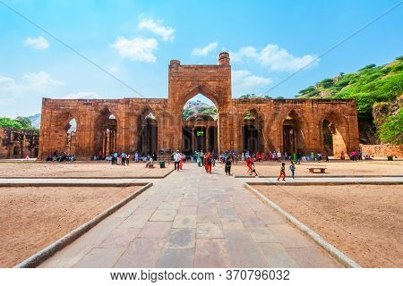 Ajmer, India - September 25, 2019: Adhai Din Ka Jhonpra Is One Of The Oldest Mosques In India, Locat
