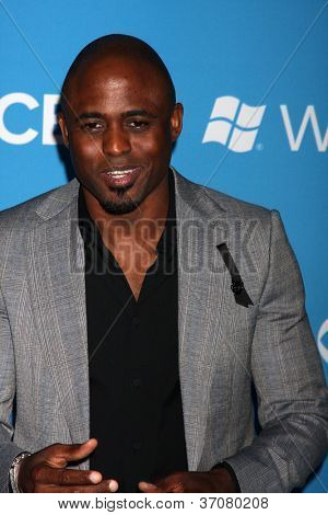LOS ANGELES - SEP 15:  Wayne Brady arrives at the CBS 2012 Fall Premiere Party  at Greystone Manor on September 15, 2012 in Los Angeles, CA