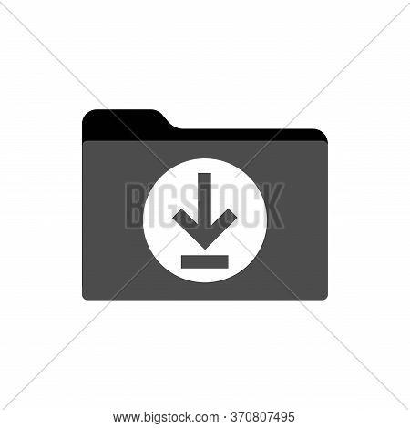 Download Button Icon Black,  Icon Download Vector