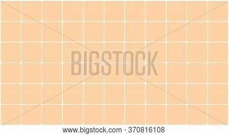Wall Tile Ceramic Orange Soft For Architecture Background, Tiled Floor Bathroom Orange Pastel Color,