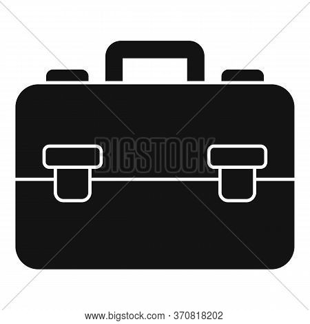 Finance Leather Bag Icon. Simple Illustration Of Finance Leather Bag Vector Icon For Web Design Isol