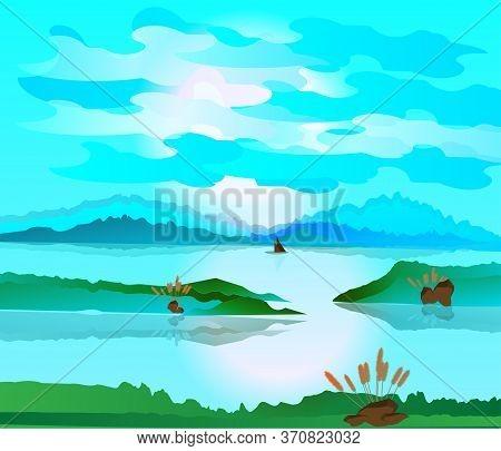 Beautiful Landscape Environment Tropical Fresh Nature View