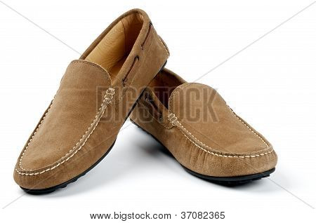 Chamois Leather Men's Shoes