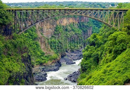 Victoria Falls Bridge - Zambia And Zimbabwe