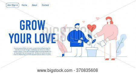 Love Romantic Relation, Charity Acts Landing Page